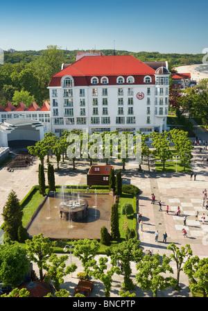 Hôtel Sheraton Sopot - près de la molo, vue du phare, Pologne