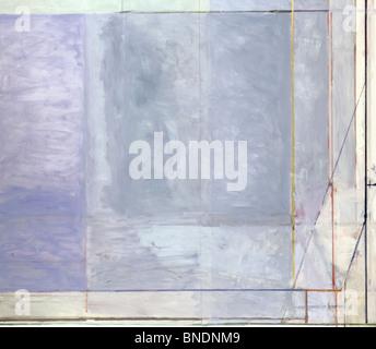 Gros plan d'un tableau abstrait Banque D'Images