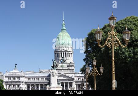 Bâtiment du Congrès national argentin Buenos Aires Banque D'Images