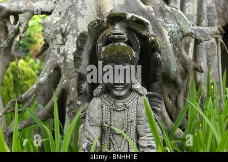 Asie Indonésie Bali Sanur beach Emplacement voyage religion statue Banque D'Images