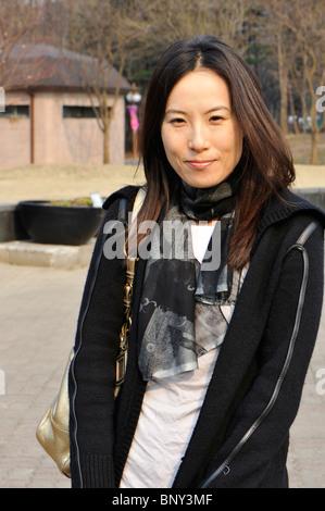 Young woman portrait Banque D'Images