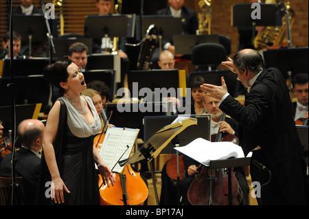 Un concert au Théâtre Mariinsky, Saint Petersburg, Russie Banque D'Images