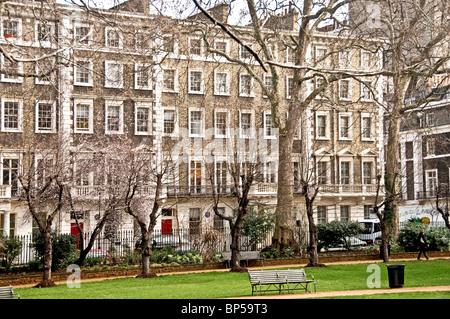 Gordon Square à Londres - le coeur de Bloomsbury; Wohnort der Gruppe bloomsbury