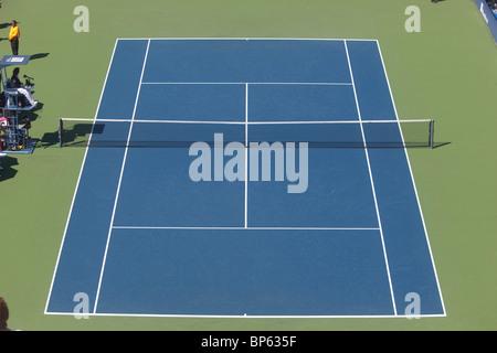 La cour dans le stade lors de la cendre Arthur USTA Billie Jean King National Tennis Center Banque D'Images