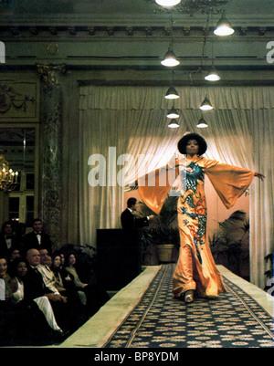 DIANA ROSS L'ACAJOU (1975) Banque D'Images