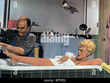 MARILYN MONROE LES SEPT ANS ITCH (1955) Banque D'Images