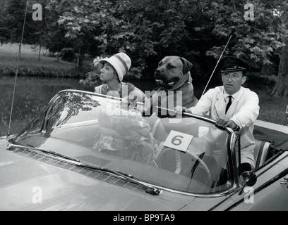 COLETTE BROSSET, ROBERT DHERY, LA BEAUTÉ AMÉRICAINE, 1961 Banque D'Images
