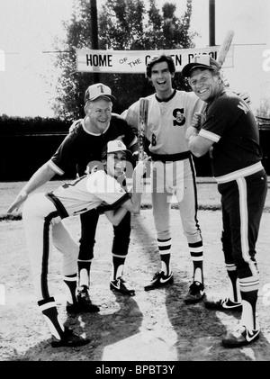 STEPHANIE ZIMBALIST, WHITEY FORD, Pierce Brosnan, Mickey Mantle, REMINGTON STEELE, 1984