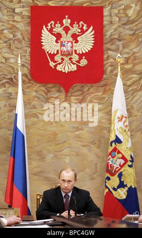 Le président russe Vladimir Poutine est titulaire d série de réunions 2 mai 2006 Banque D'Images