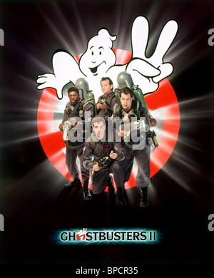 ERNIE HUDSON, Harold Ramis, Bill Murray, Dan AYKROYD POSTER, Ghostbusters II, 1989 Banque D'Images