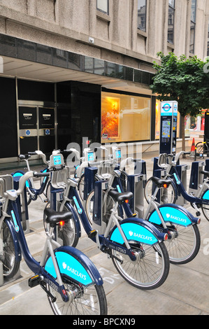Transport for London Bike Hire Scheme Banque D'Images
