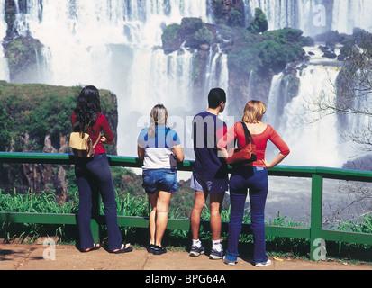 Chutes d'Iguaçu, Brésil Banque D'Images