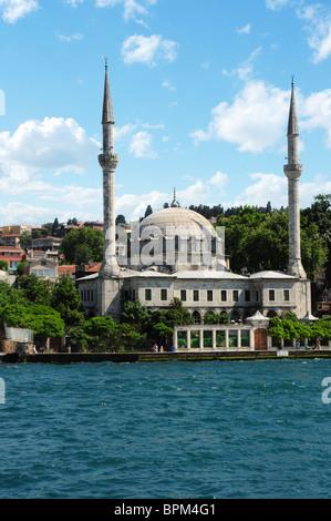 La Turquie, Istanbul, mosquée Beylerbeyi Banque D'Images