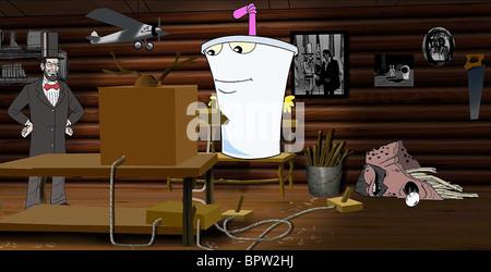 Temps LINCOLN & MASTER SHAKE Aqua Teen Hunger Force COLON MOVIE FILM POUR LE THÉÂTRE (2007) Banque D'Images