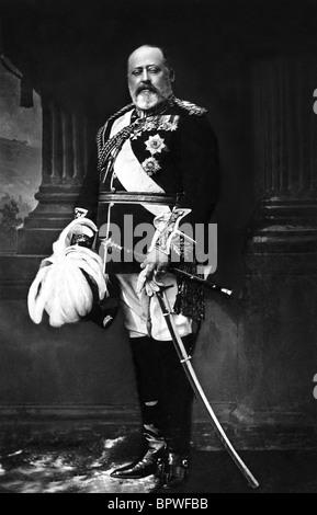 Le roi Édouard VII roi d'Angleterre 1901 - 1910 10 juin 1902 Banque D'Images