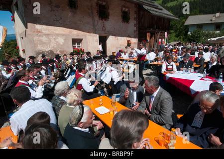 Santa Maddalena, Funes Valley (Villnoss), Dolomites, Trentin-Haut-Adige, le Tyrol du Sud, Italie Banque D'Images