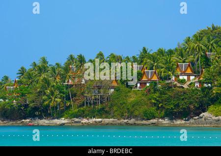 L'Amanpuri Resort, l'île de Phuket, Thaïlande Banque D'Images