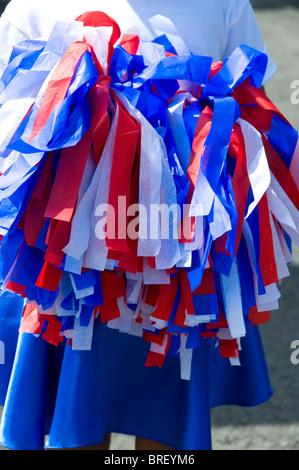Commémorations de l'indépendance Ciudad Colon Vallée Centrale Costa Rica Banque D'Images