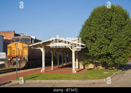 Warrensburg Train Depot Banque D'Images