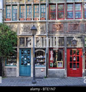 La boutique Temmerman et bistro de l'hôtel / l'enfer à Gand, Belgique Banque D'Images