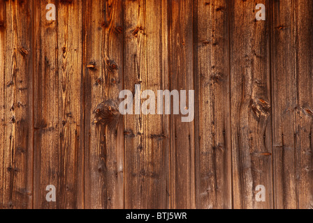 Old weathered boards bandes - wall background Banque D'Images