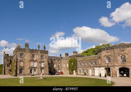 L'Angleterre, Yorkshire du Nord, Ripley Castle Banque D'Images