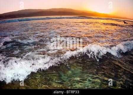 L'Islas Canarias Ocean & Earth Pro. Seascape prises pendant le concours 2010. Banque D'Images