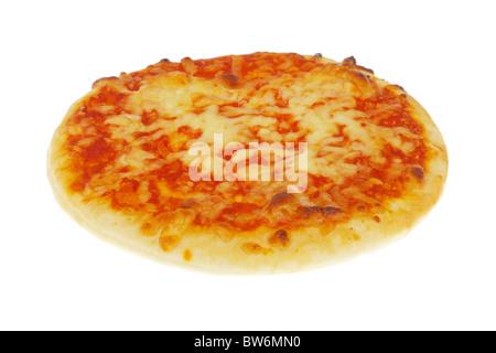 Mini Fromage et Tomato Pizza Banque D'Images