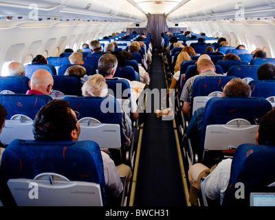 Spanair vol d'un avion Airbus bondé de Stockholm Suède à Barcelone Espagne