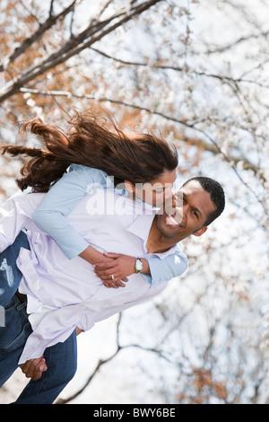 Couple, National Mall, Washington DC, USA