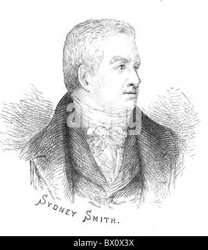 Image d'Archive historique des figures littéraires. C'est Sydney Smith. Sydney Smith (3 juin 1771 - 22 février 1845) était un écrivain, de Wit et clerc anglican. À partir des archives de communiqués de presse (anciennement Service Portrait Portrait Bureau)
