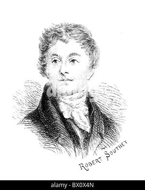 Image d'Archive historique des figures littéraires. C'est Robert Southey.