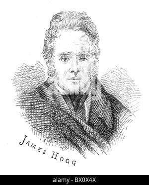 Image d'Archive historique des figures littéraires. C'est James Hogg.