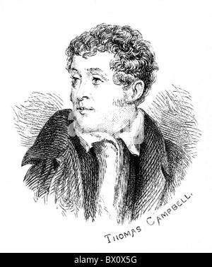Image d'Archive historique des figures littéraires. C'est Thomas Campbell.