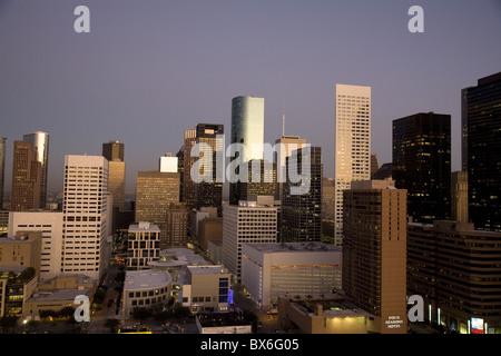 Le centre-ville de Houston, Texas, États-Unis d'Amérique, Amérique du Nord Banque D'Images