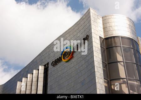 Bibliothèque de Cerritos, Cerritos, Californie, États-Unis. Banque D'Images