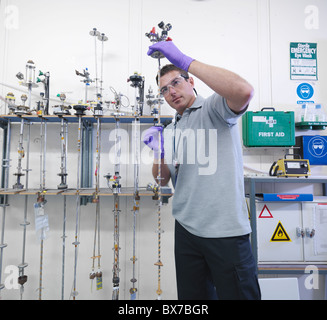Sondes d'inspection scientifique Banque D'Images