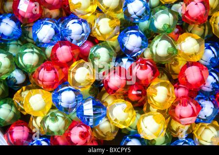 perles colorées Banque D'Images