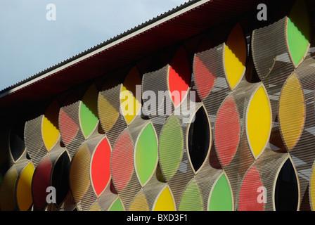 Fa√Åade extérieur de la Pépinière de Stonebridge conçu par Alsop Architects North London UK Banque D'Images