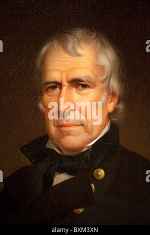 12e Président Zachary Taylor, par James Reid Lambdin, 1848
