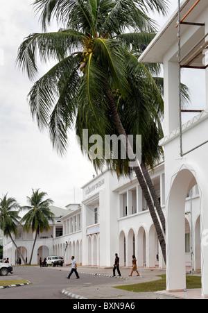 Le Palacio do Governo (Palais du Gouvernement) à Dili, capitale du Timor Leste (Timor oriental)