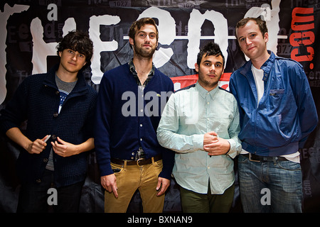 Vampire Weekend Rock Band Banque D'Images