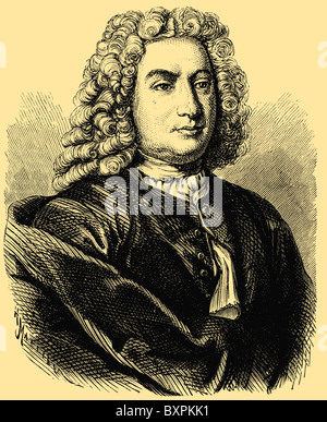 Daniel Bernoulli (8 février 1700 - 8 mars 1782), mathématicien Dutch-Swiss