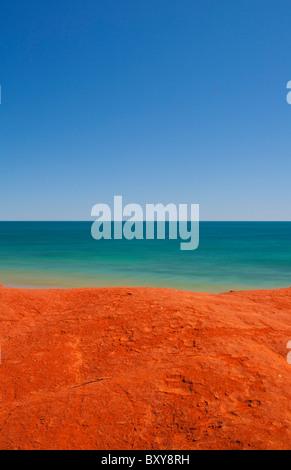 Terre, Mer et Ciel à prix Point près de Broome, Kimberley, Australie occidentale Banque D'Images