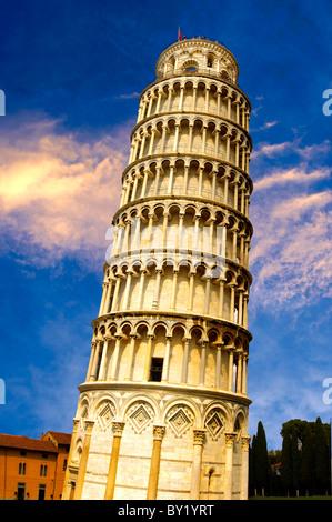 Tour de Pise - Site du patrimoine mondial de l'UNESCO, la Piazza del Miracoli , Pise, Italie