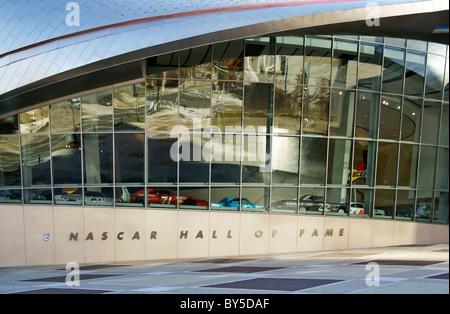 NASCAR Hall of Fame, Charlotte, Caroline du Nord, Caroline Banque D'Images