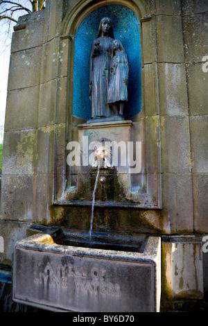 Saint Anne's (St Anne 's / Ann's / Historique / Ann) et la guérison de l'eau minérale wells / avec les eaux de source. Banque D'Images