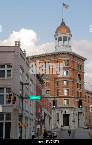 Tennessee Chattanooga downtown Dome 1896-1982 bâtiment construit 1892 historic landmark architecture clocher coupole Banque D'Images