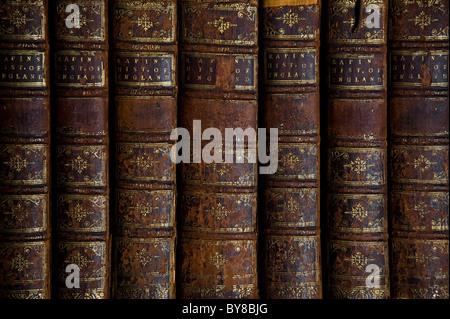 Vieux Livres Détail Banque D'Images