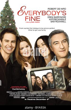 Everybody's Fine Année 2009 États-Unis Réalisateur Kirk Jones Sam Rockwell, Drew Barrymore, Kate Beckinsale, Robert Banque D'Images